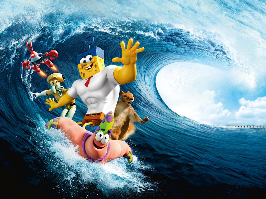 สพันจ์บ็อบ ฮีโร่จากใต้สมุทร 3D